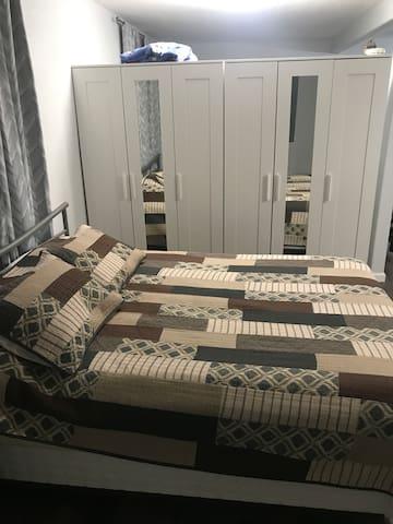 Bedroom open concept