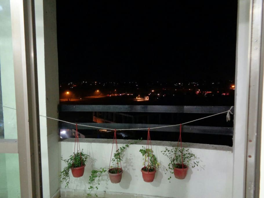 our balcony with full of plants:)