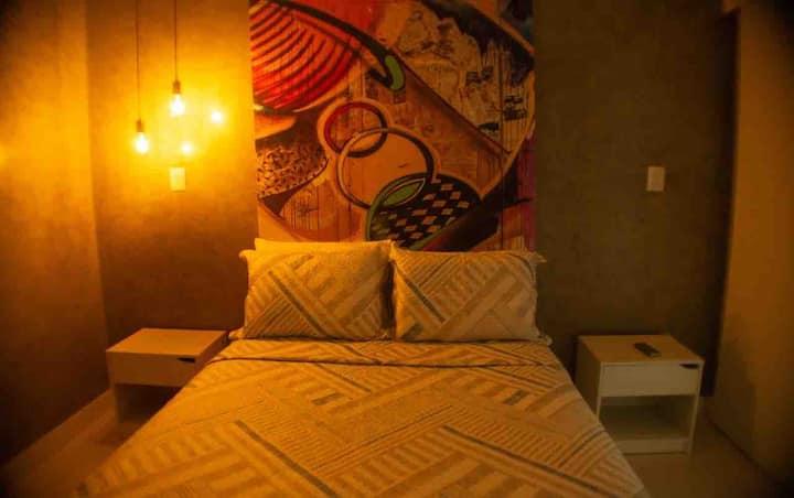 Apartamento confortável no centro de Belém.
