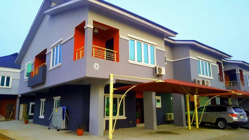 A serene, classy duplex in Lagos Mainland