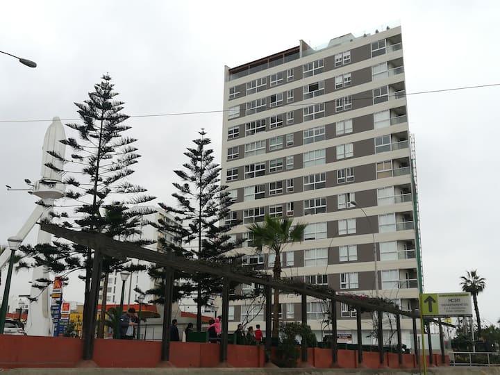 Apartamento de Estreno con Vista al mar.