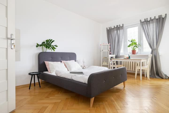 Mieszkanie z balkonem w centrum Poznania. Flat