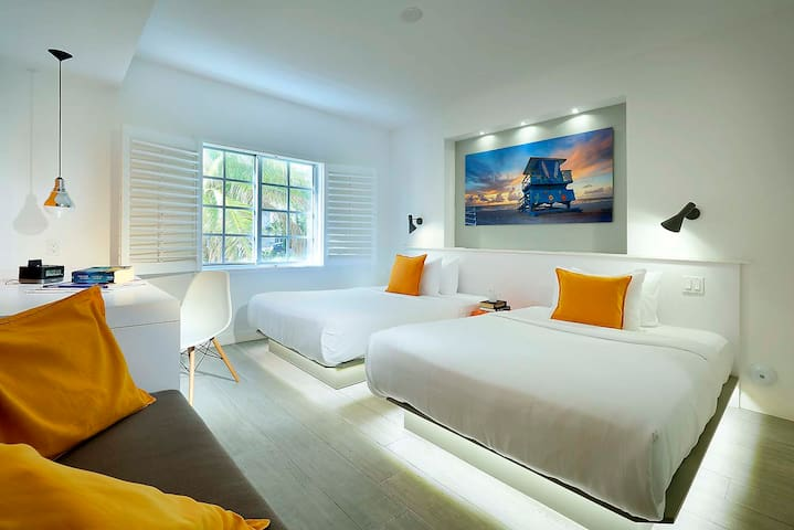 Double Room in South Beach Boutique Hotel