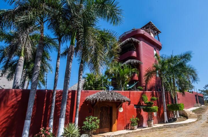Peaceful Playa La Ropa Villa with Ocean View
