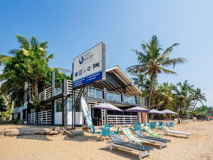 Enjoy the Beach from Mount Lavinia Sea Lodge