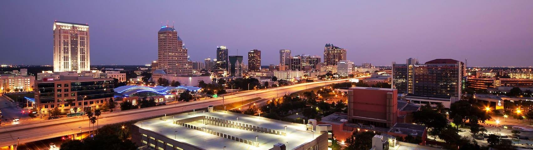 Downtown Orlando Apartment