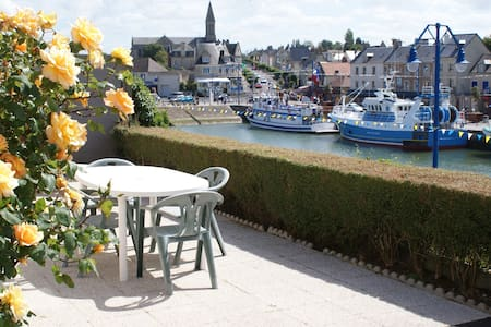 The most spectacular view in Port-en-Bessin!