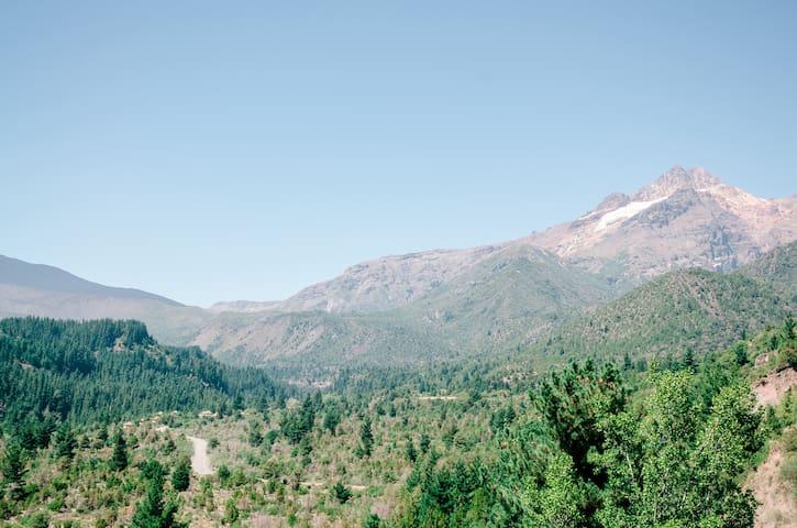 Cabaña de Montaña para 4 personas en Antucalhue