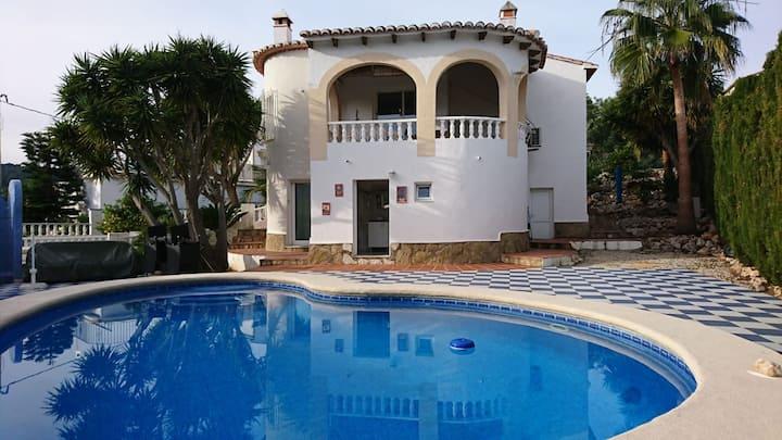 maison avec piscine privee