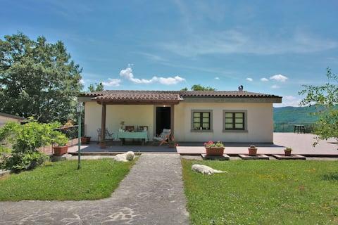 Farmhouse in Apecchio with Swimming Pool,Terrace,Garden, BBQ
