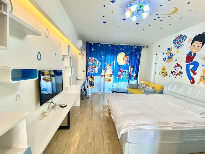 儿童亲子大床房「R20」海寓小区