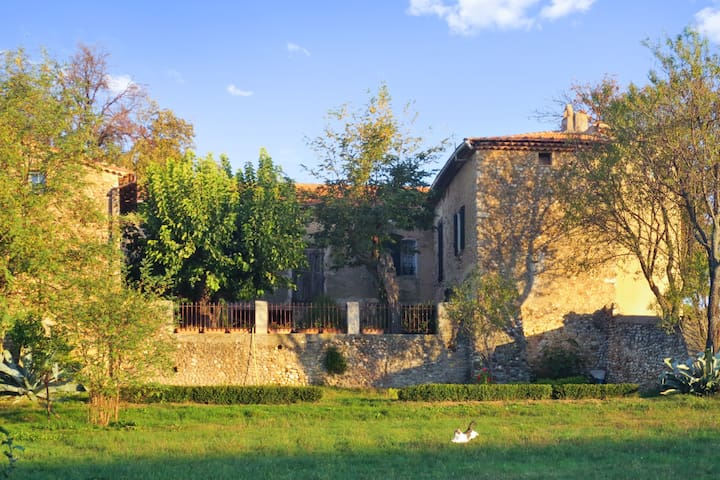 Traditional house with a terrace - Allemagne en Provence