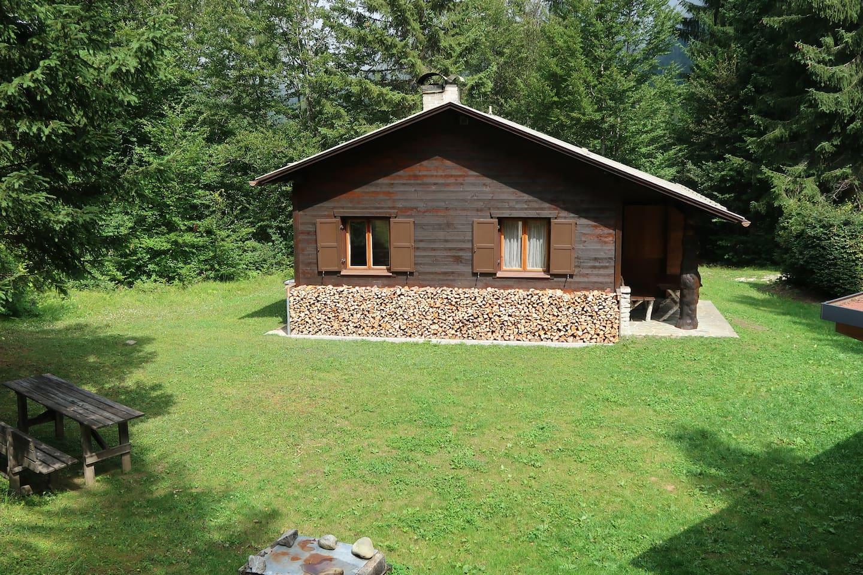 Südseite Buchner Hütte