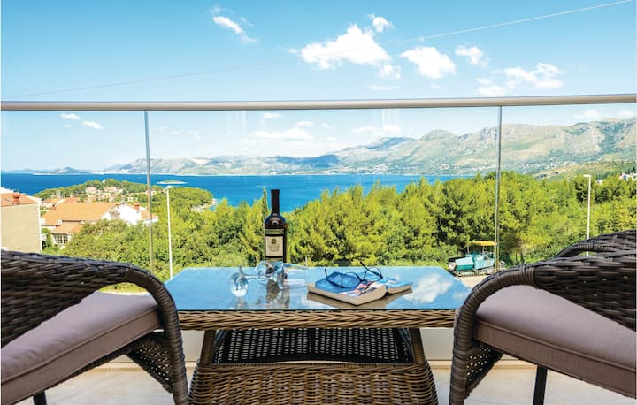 Beautiful home in Cavtat with WiFi and 1 Bedrooms