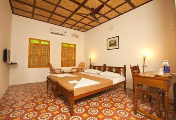 Air Conditioned room in a village resort