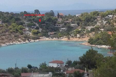 House 150 meters from the beach - Paloukia