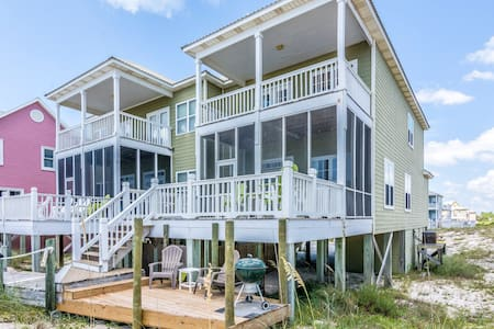 Dolphin East Beach home, Gulf Front Luxury & Pool - Gulf Shores