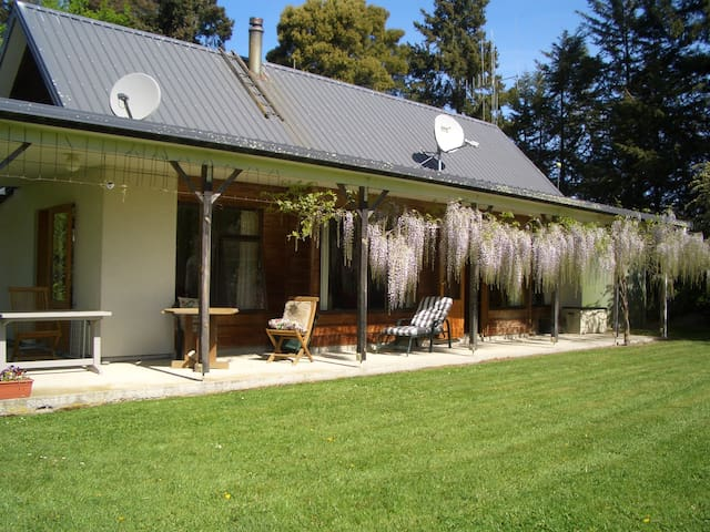 Private, peaceful - enjoy this lovely place to stay.