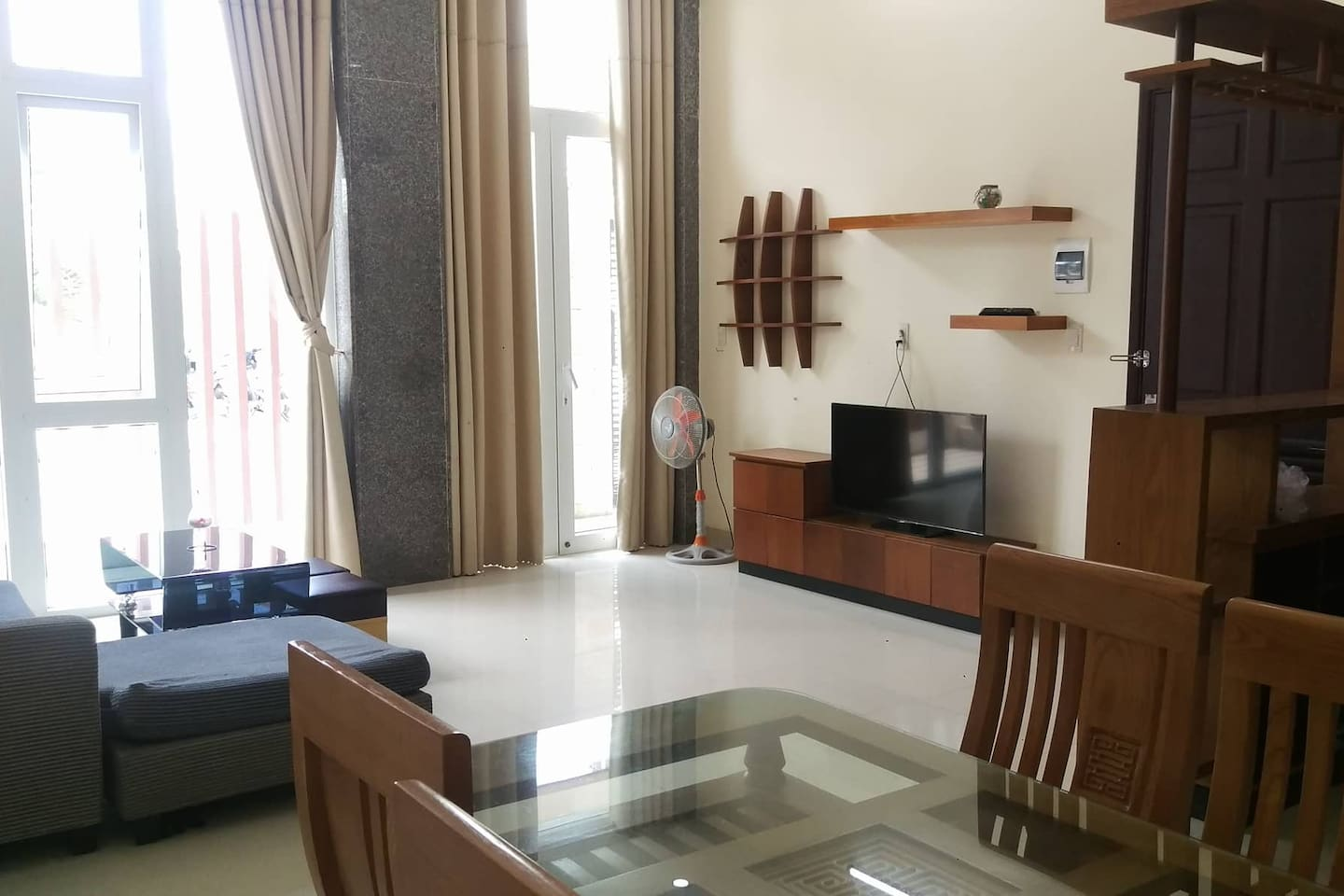 One bedroom apartment on the ground floor
