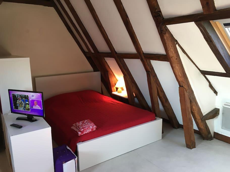 Main bed, couchage principal