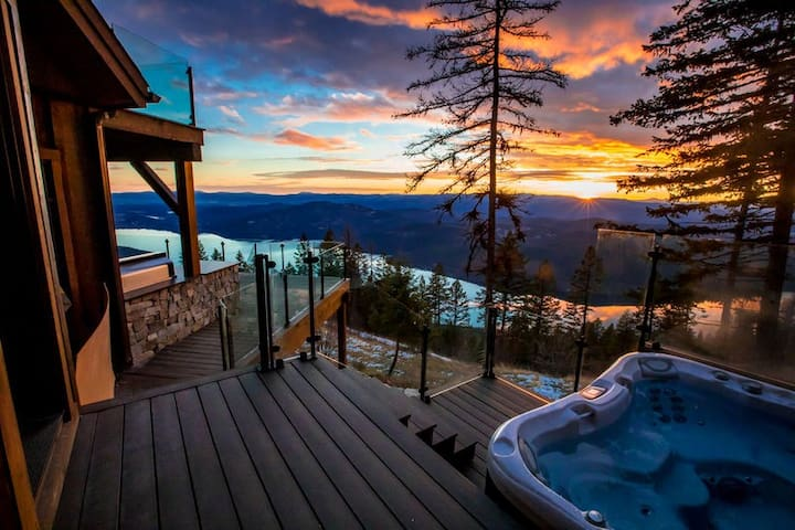 Brand new,ski-in/ski-out estate w/ private hot tub, game-room and the best view!