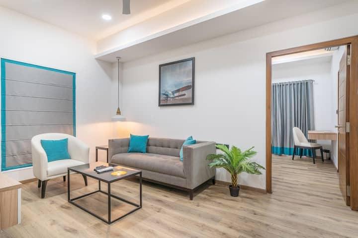2 bedroom studio apartment 1,Jubilee Hills,Road#44
