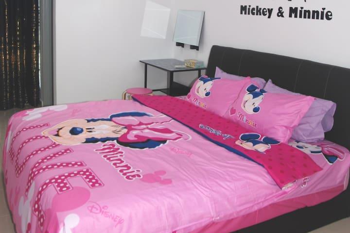 Qstay Sitiawan Townhouse (Minnie Dreams) - 米妮梦