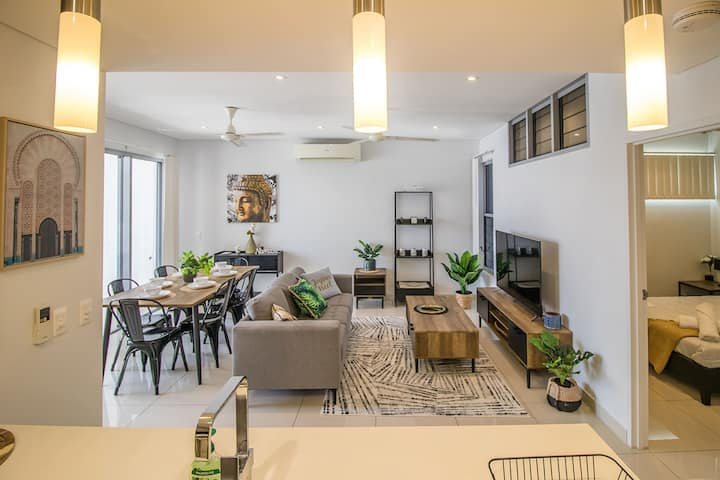 ZEN CENTRAL CBD - Affordable 3-Bdrm Apt in the Heart of Darwin City