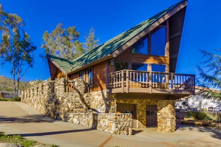 Chalet style home in Ramona