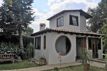 Hermosa y Cálida Cabaña en el Jardín - Comitán de Domínguez - 小木屋