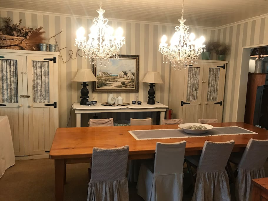 Dining room 8 seater