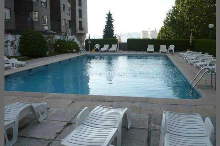 Apartamento súper céntrico con piscina