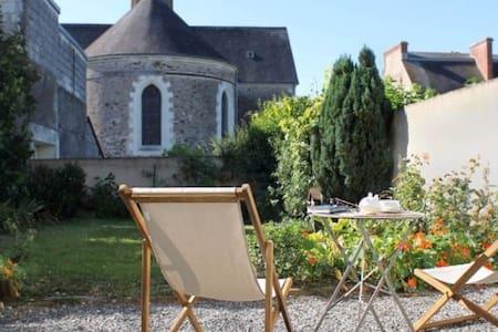 Chambre d'hôte le Fresne sur Loire (près d'Angers) - Le Fresne-sur-Loire - Domek gościnny