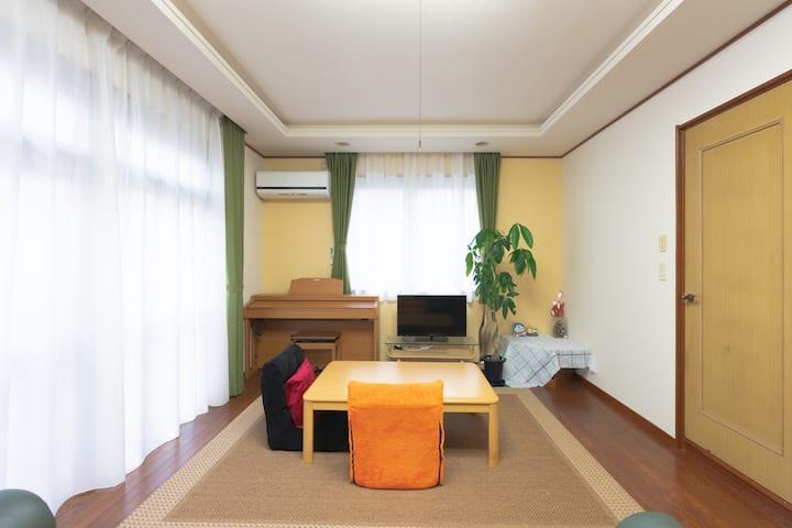 Japan TATAMI big room & free WI-FI