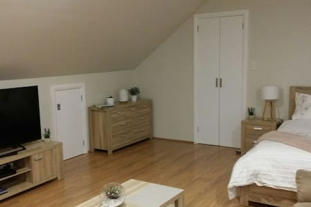 Studio Oasis Apartment - Close to Airport