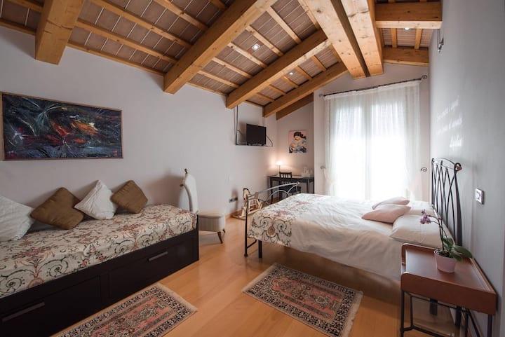 B&b Rosa del Grappa near Bassano del G. Sunny