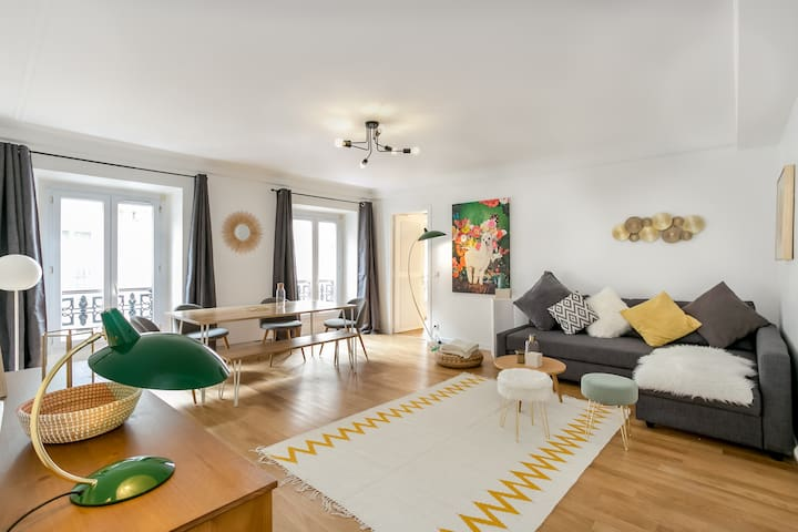 Beautiful Family Apartment next to Champs Elysées