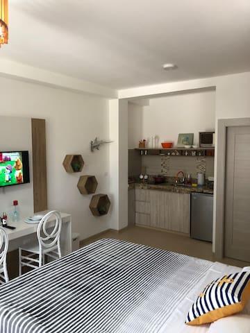 """El Aguacate Suites Oloncito """"Suite 4"""" Matrimonial"""