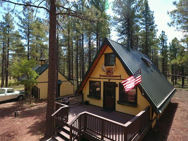 Cozy Mountain Cabin in Williams, AZ - Williams - Stuga