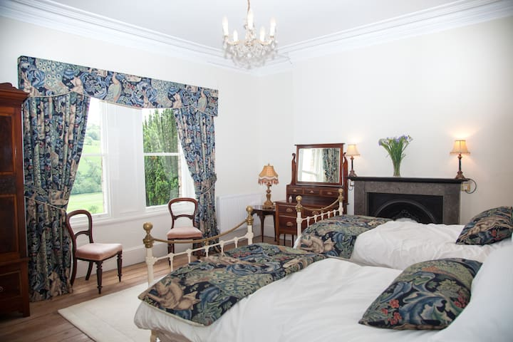 Bedroom 2 can be made up as a twin bedded room or a large double