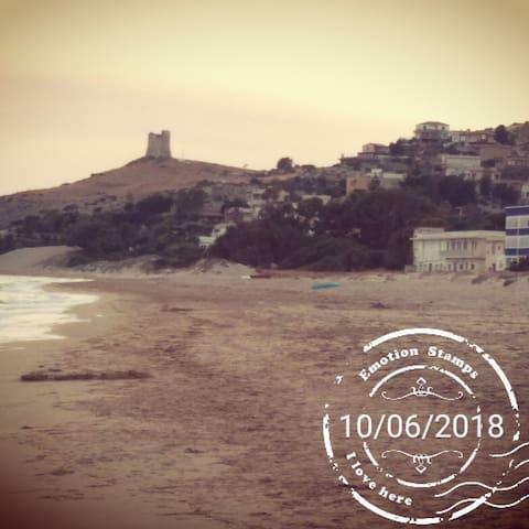 Spiaggia libera di Manfria