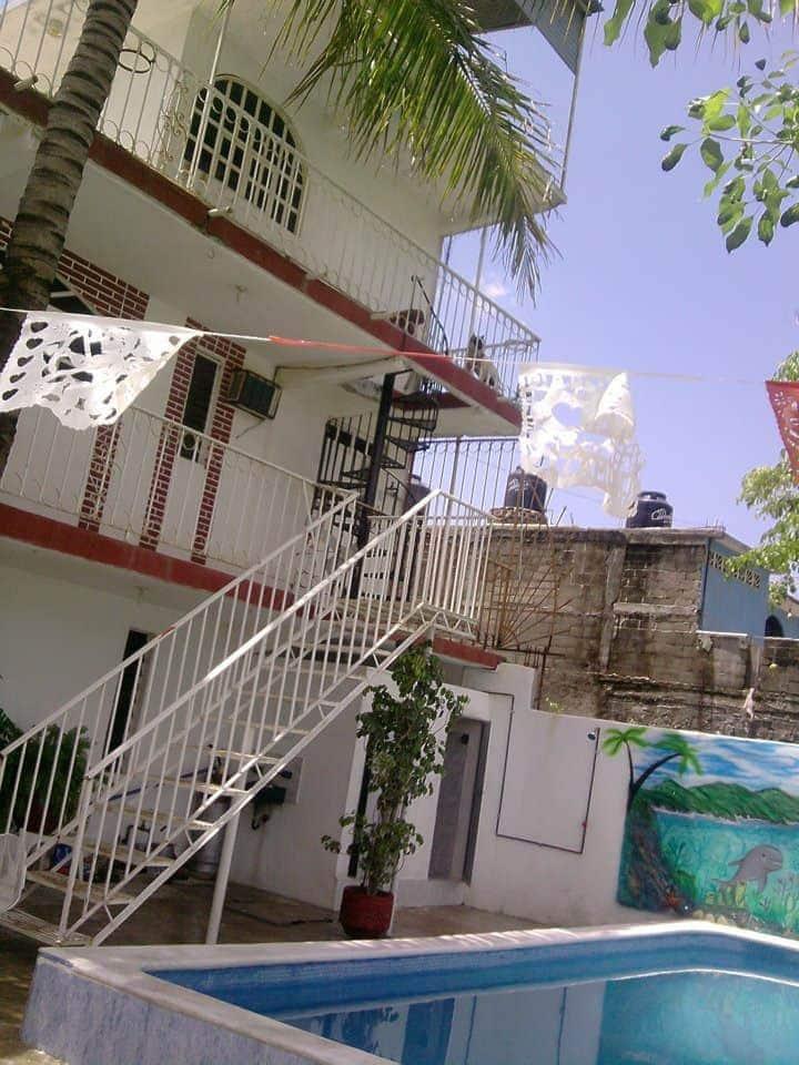 Casa con Alberca Acapulco. Habitacion 1A