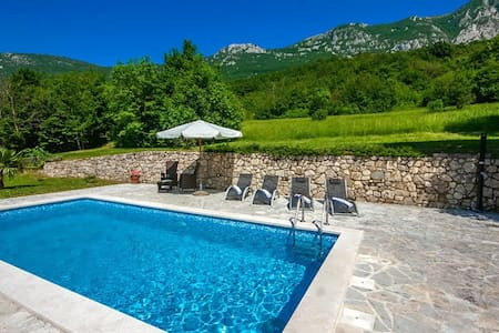 Cozy Villa Rocco with Pool - Plomin - Villa