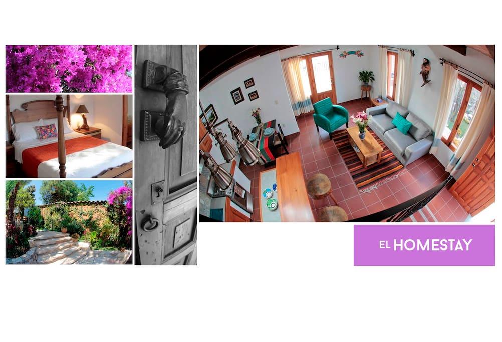 Bienvenidos a El Homestay de Casa San Miguel