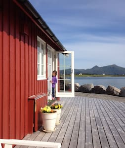Rorbu med nydelig havutsikt - Vestvågøy