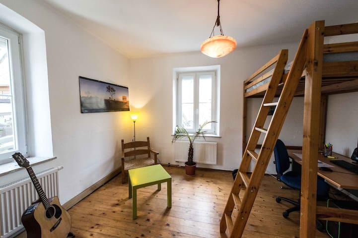 Villa 1870 Vogelbeere/Zimmer für Studis & Trainees