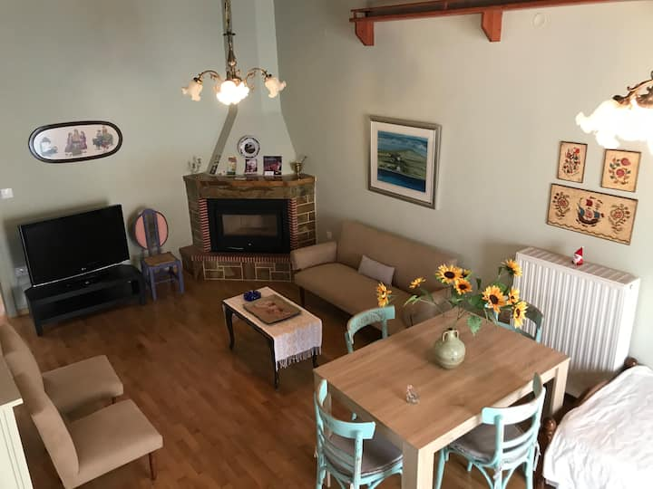 "Pallas Apartments - ""Wood Cabin"" Apartment"