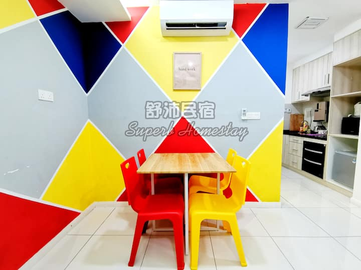 Superb Avengers Theme Sutera Avenue (2BR)