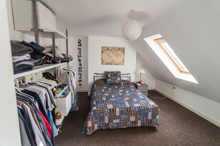 Lovely attic bedroom in Saltburn - Saltburn-by-the-Sea - 公寓