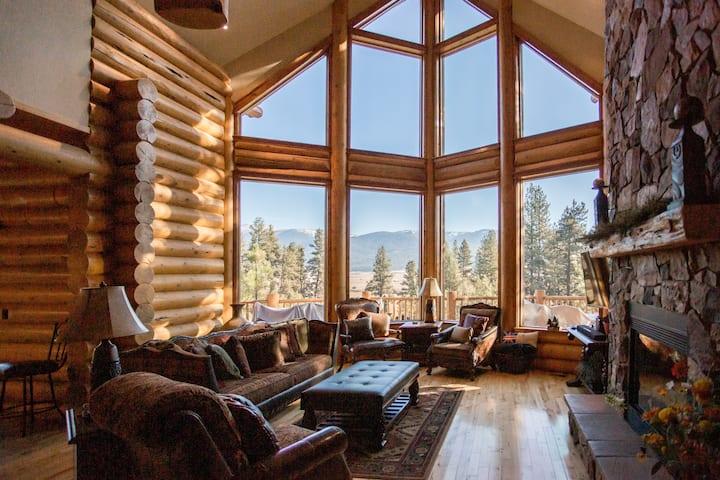 Luxury Log House, Breathtaking Views @Meadow Creek